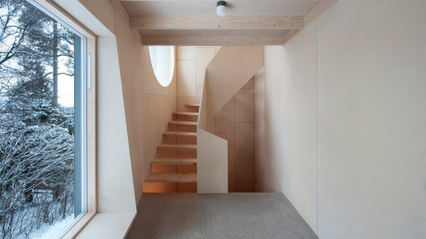 Interiors of the Tower Bridge house extension