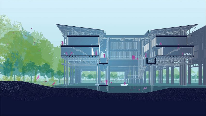 Tulane school of architecture school show