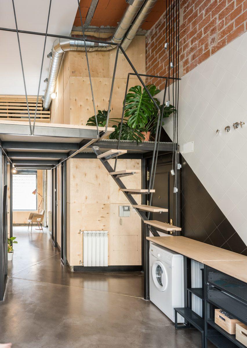 Loft in apartment in Madrid