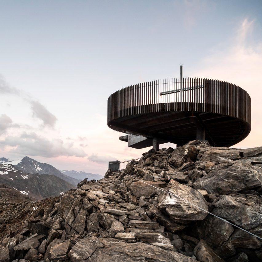 Ötzi Peak 3251m by Network of Architecture