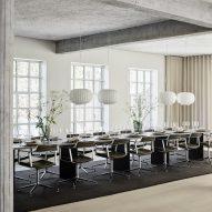 Vipp converts former pencil factory in Copenhagen into supper club venue