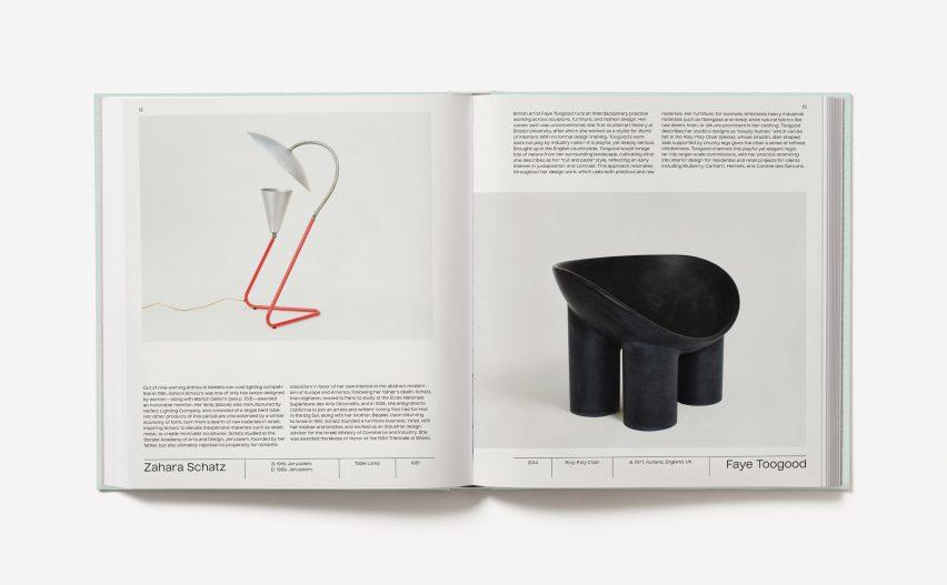 Furniture by designers Schatz and Toogood