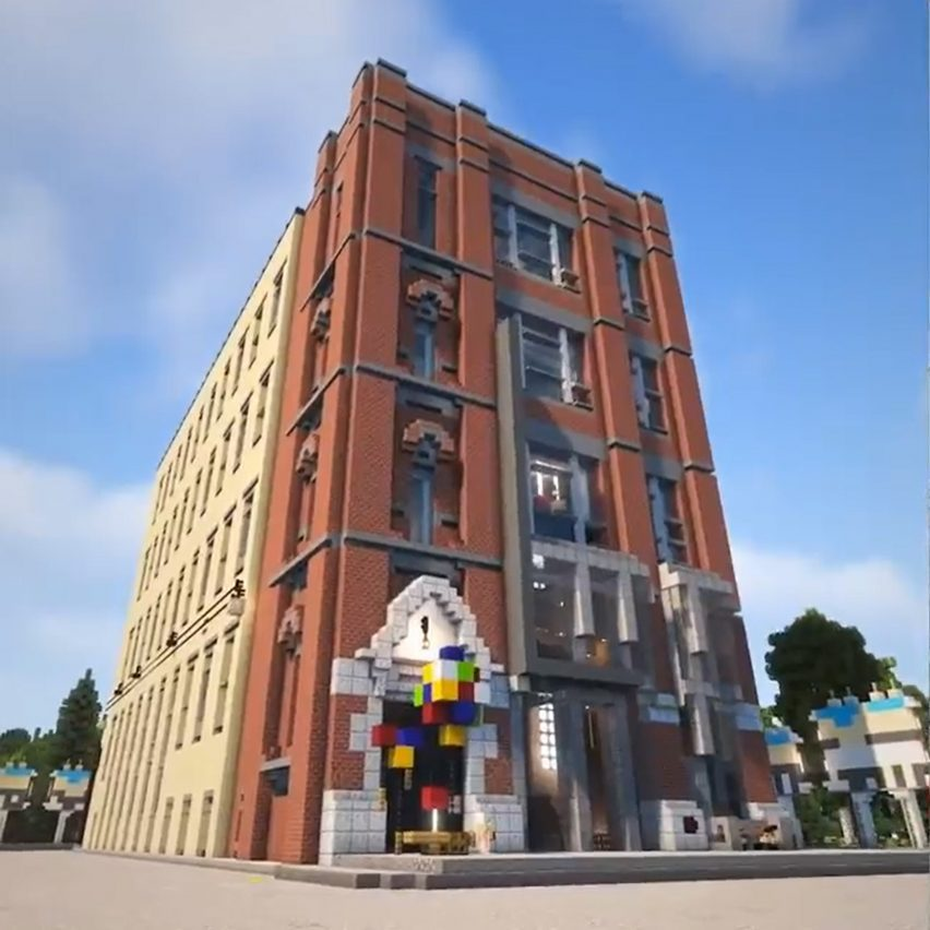 Digital Minecraft campus by WPP and BDG