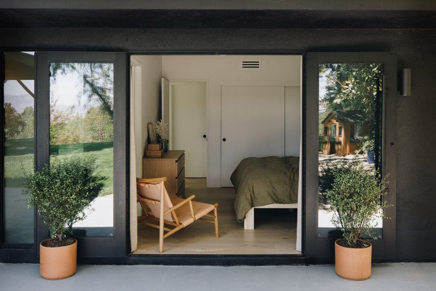 The home belongs to the owners of Working Holiday Studio