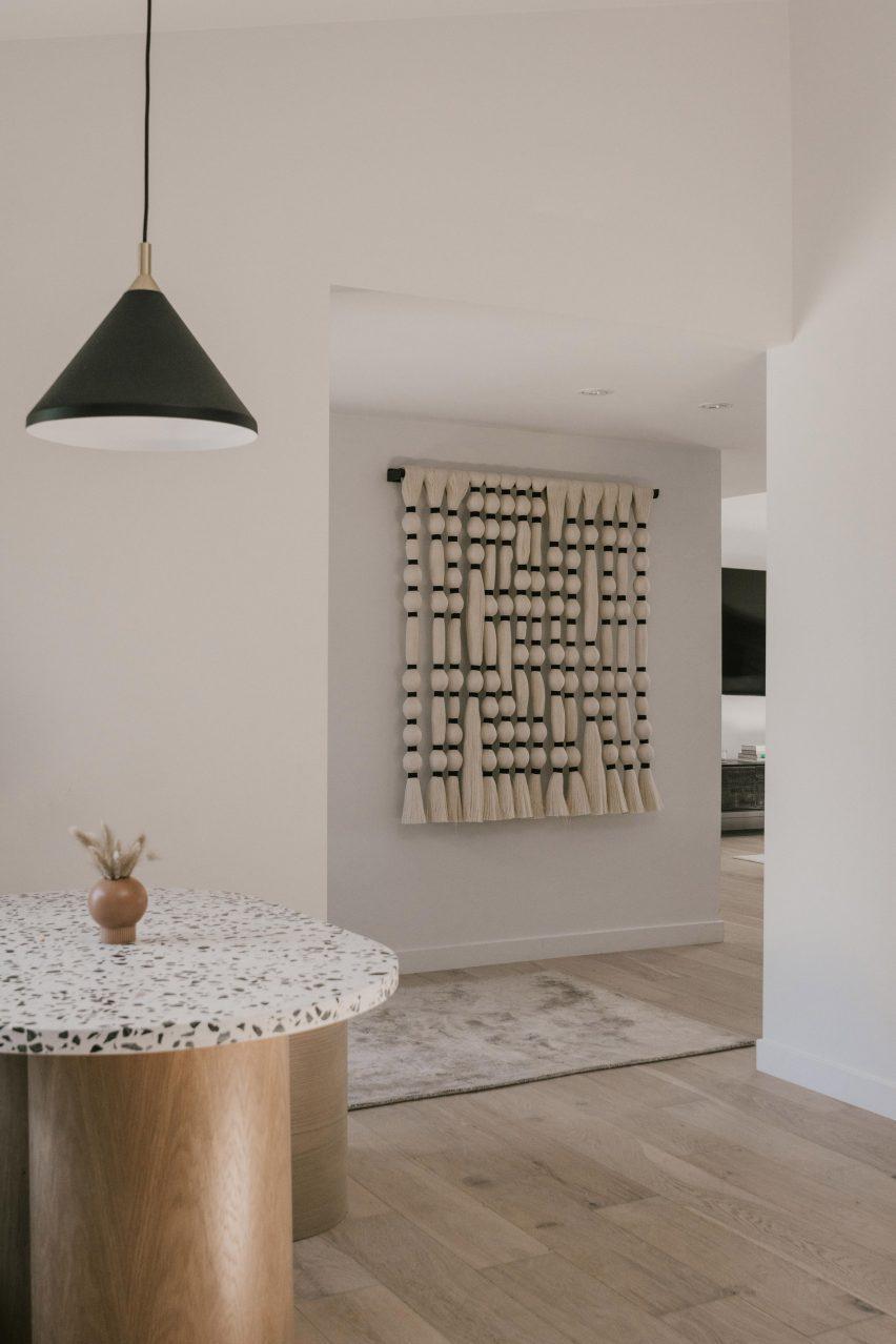 Zen Den features eclectic design elements