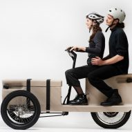 ZUV is an electric tricycle that can be 3D-printed from plastic waste