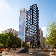 S9 Architecture creates gridded facade for 111 Varick tower in Manhattan