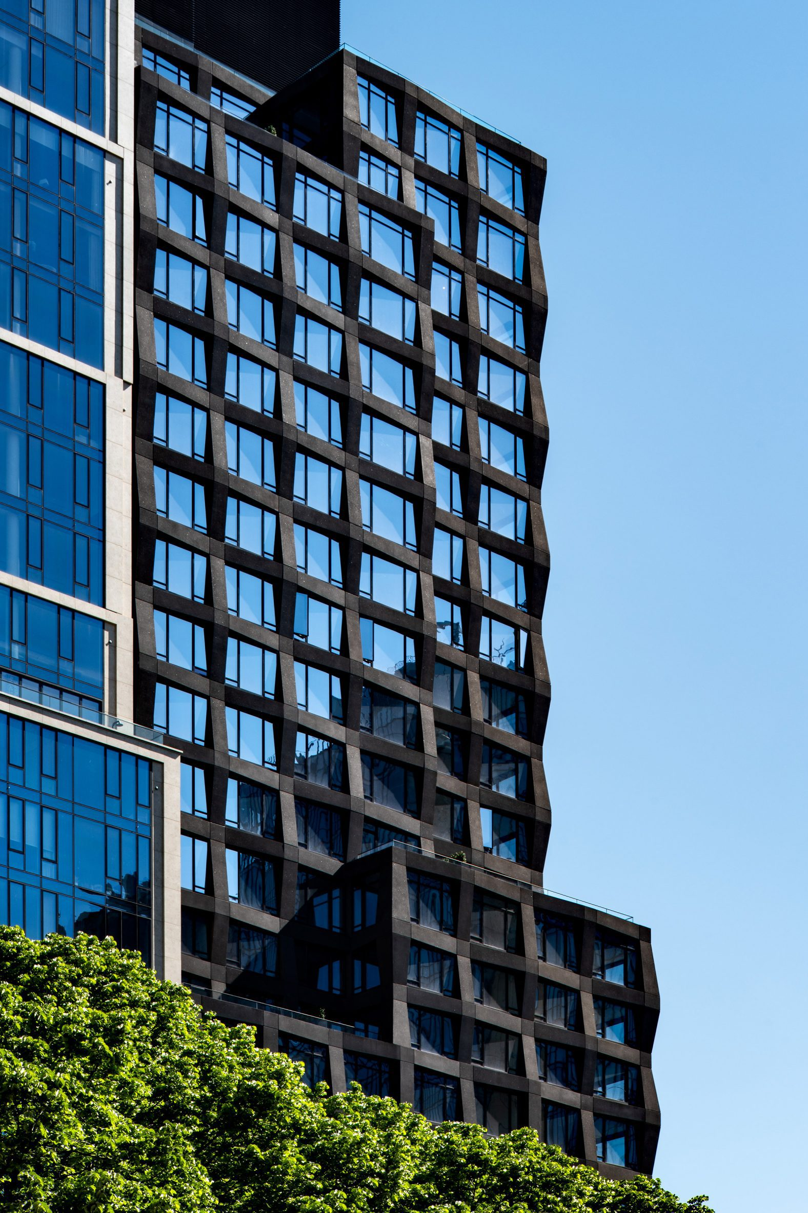 S9 Architecture added glass and concrete facades