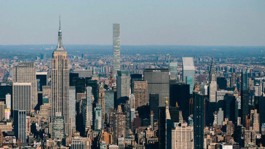 432 Park Avenue in New York skyline