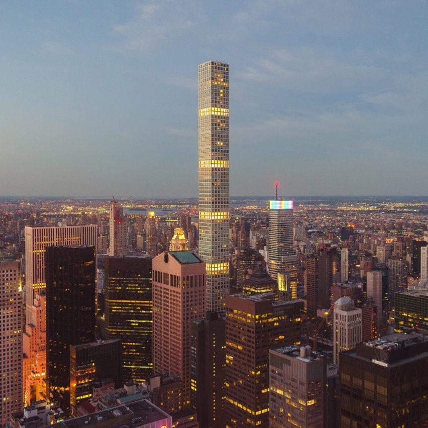 A photo of Rafael Viñoly's 432 Park Avenue