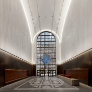 Gensler unveils redesigned lobby in Philip Johnson's AT&T building