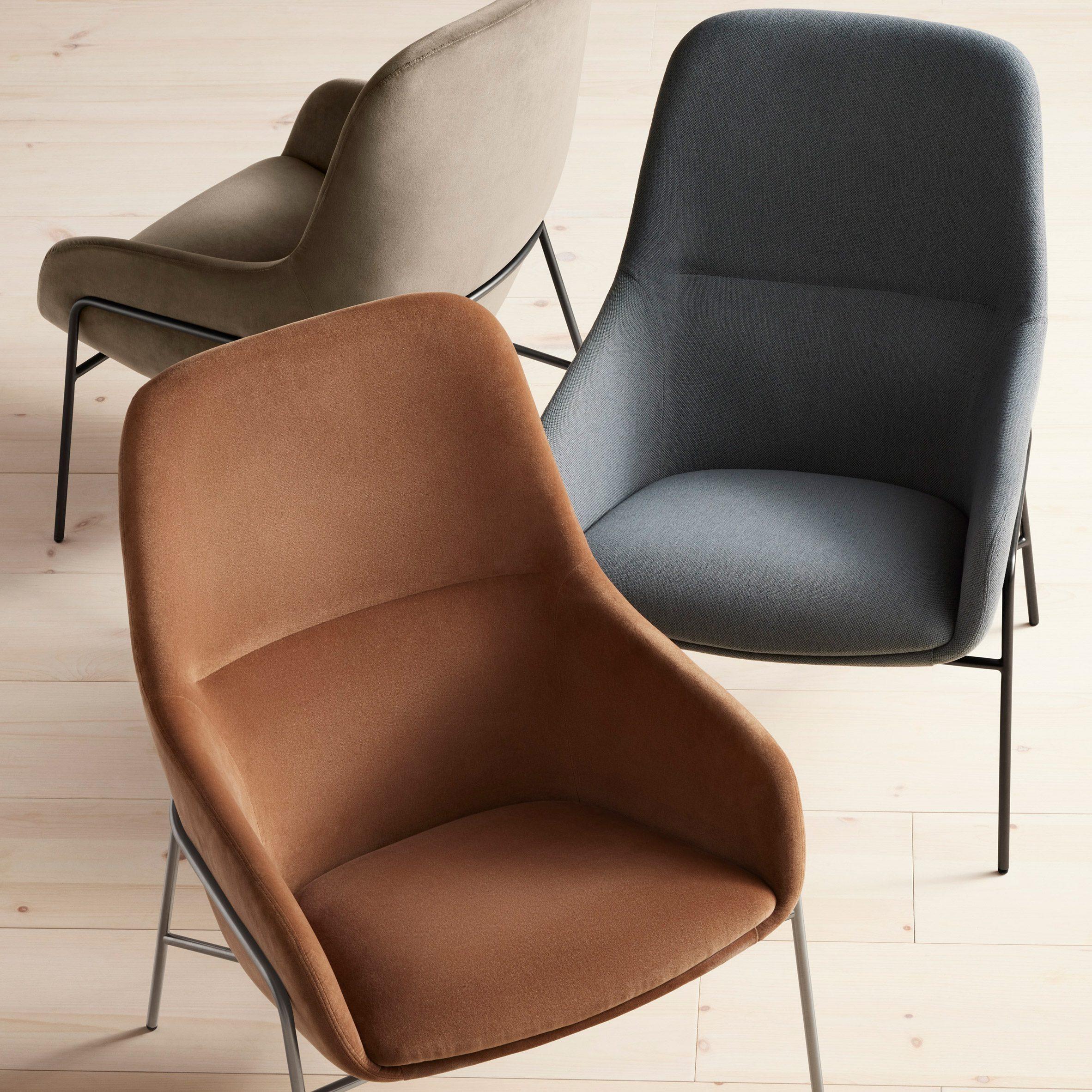 Acre lounge chair by Blu Dot
