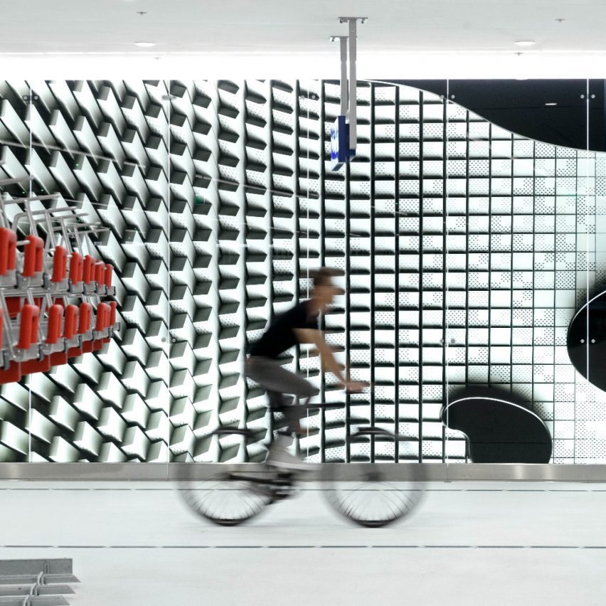 Bicycle Parking Garage The Hague by Silo