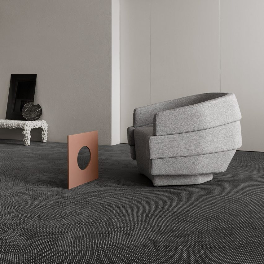 Bolon flooring by Patricia Urquiola for Bolon