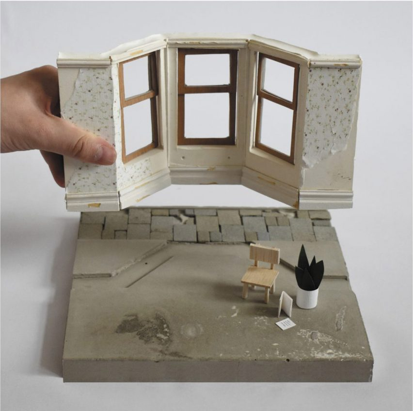 An architectural model exploring craft