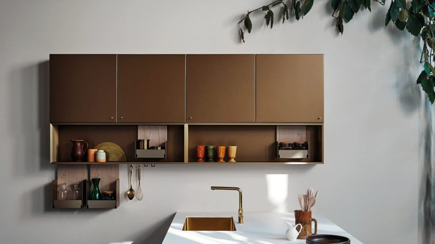 A photograph of a vertical wall unit