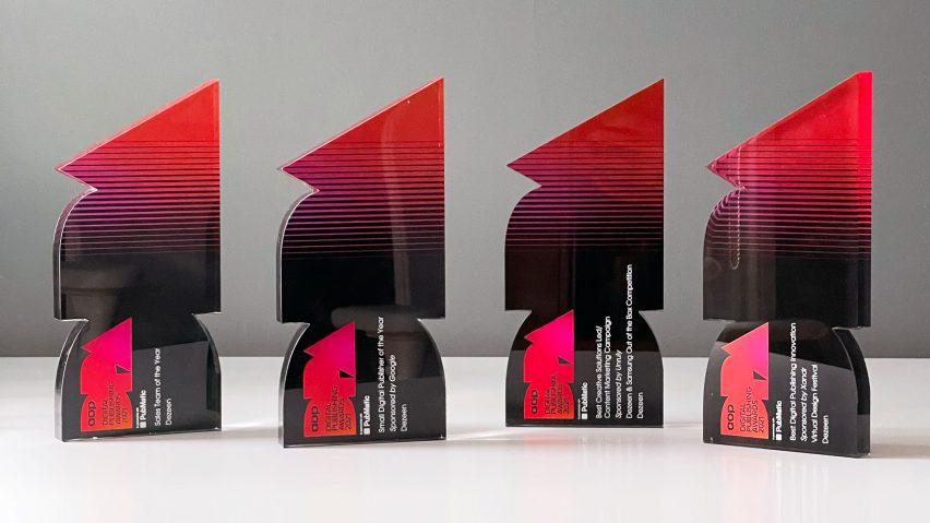 Four AOP Digital Publishing Awards won by Dezeen