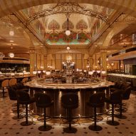Harrods Dining Hall by Lighting Design International
