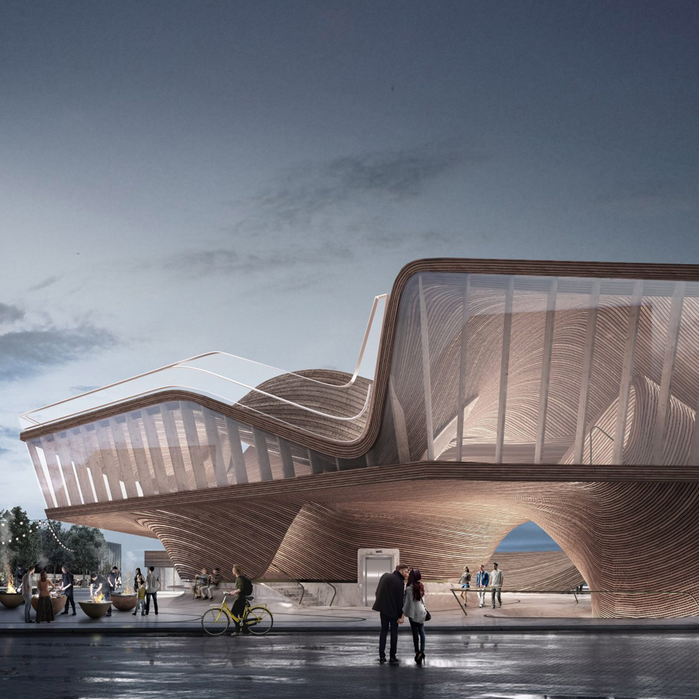 Project by a former architecture student at University of East London