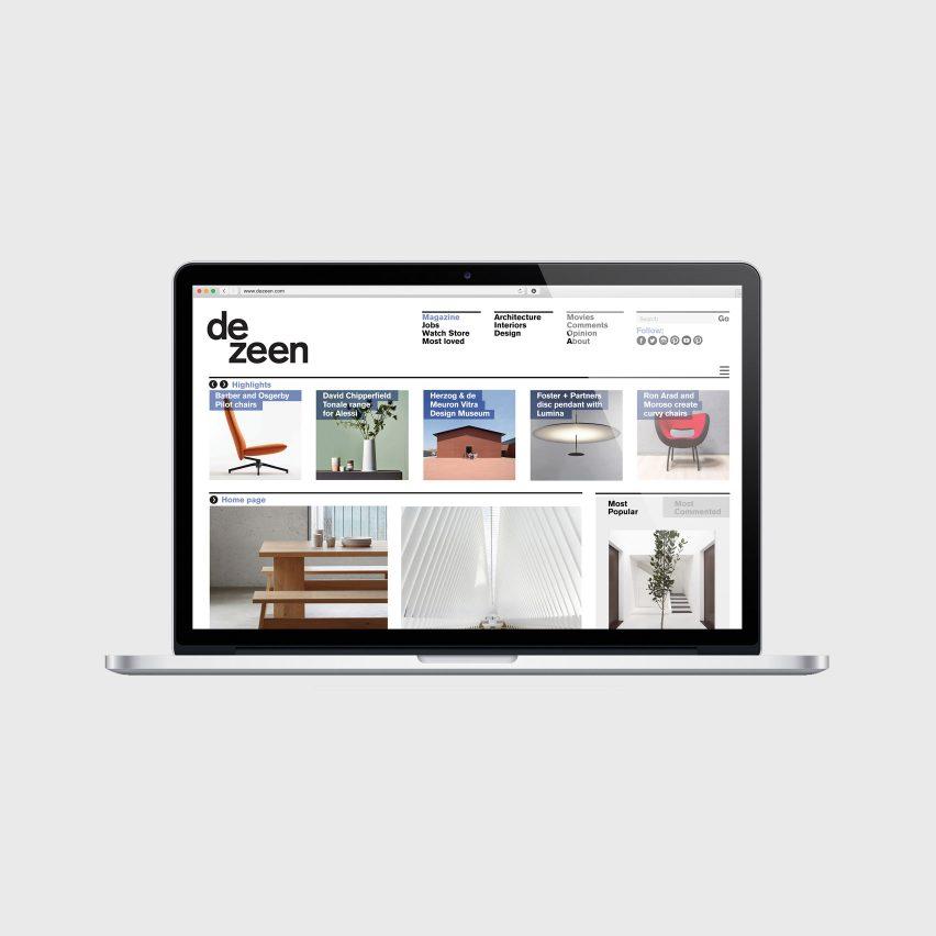 "Dezeen makes ""massive"" reduction to its website carbon emissions"