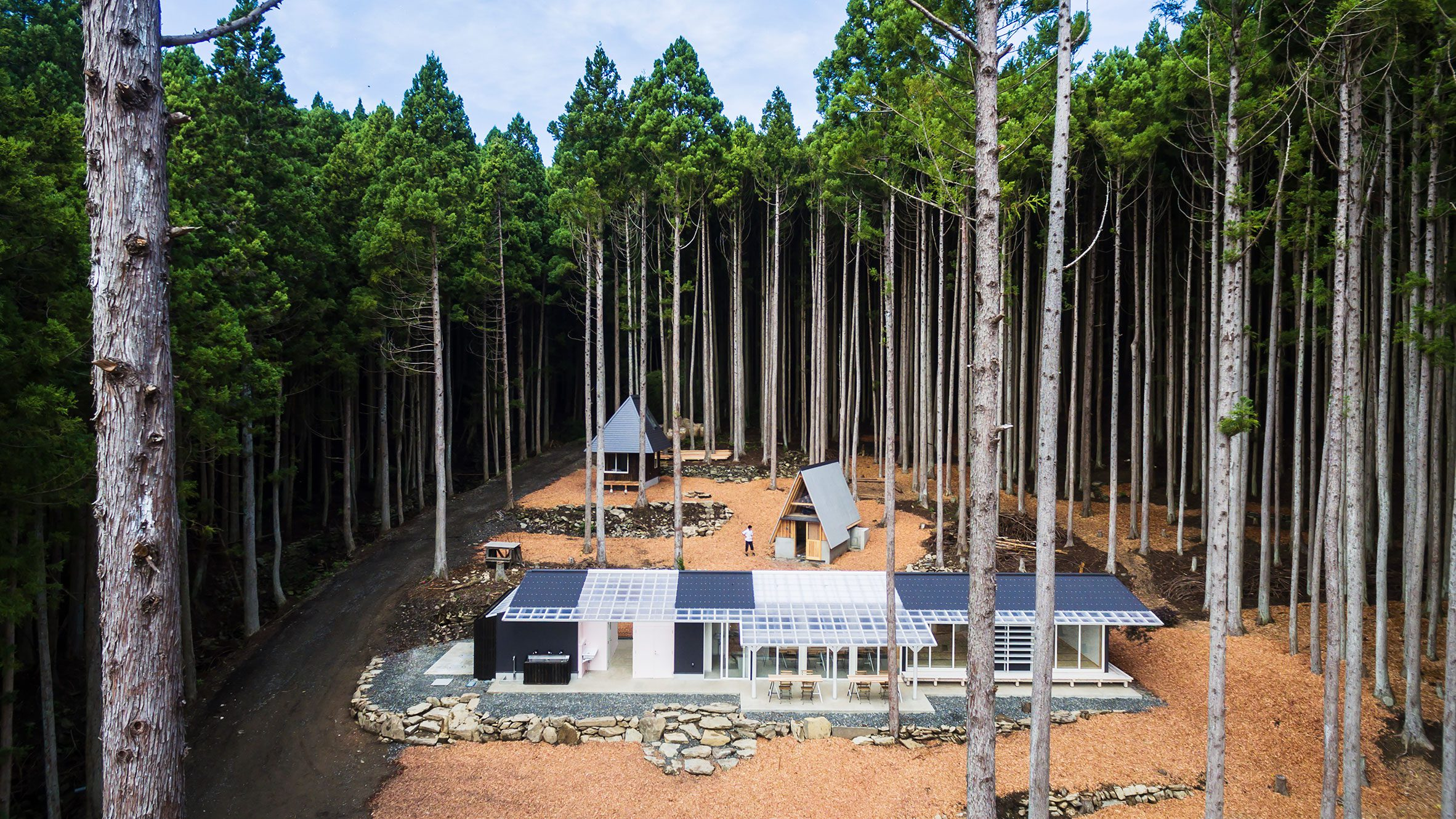 Building in Momonoura Village by Atelier Bow-Wow