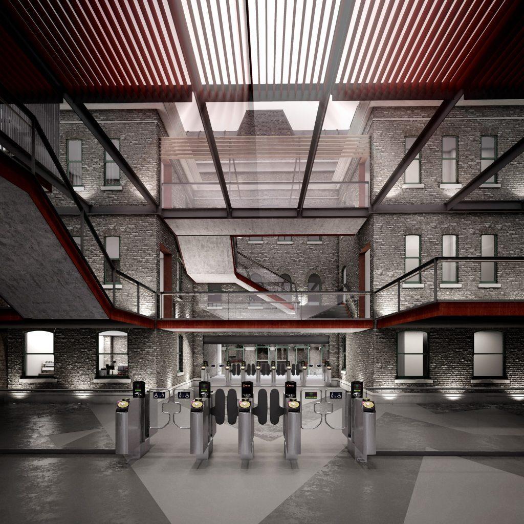 Peckham Rye Station by Flashforward Studio