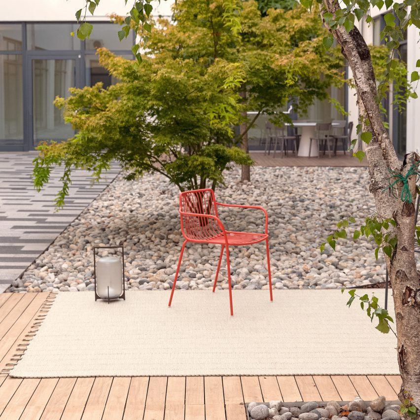 Pleiadi outdoor rug by Paolo Zani for Warli