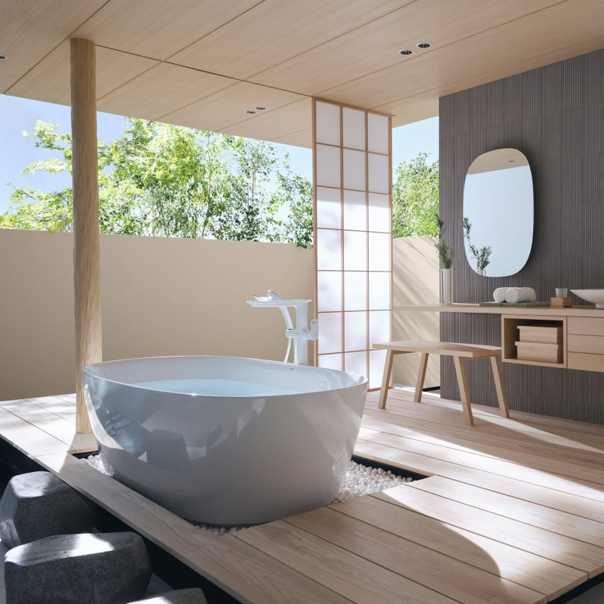 Отдельностоящая ванна S600 Line от INAX