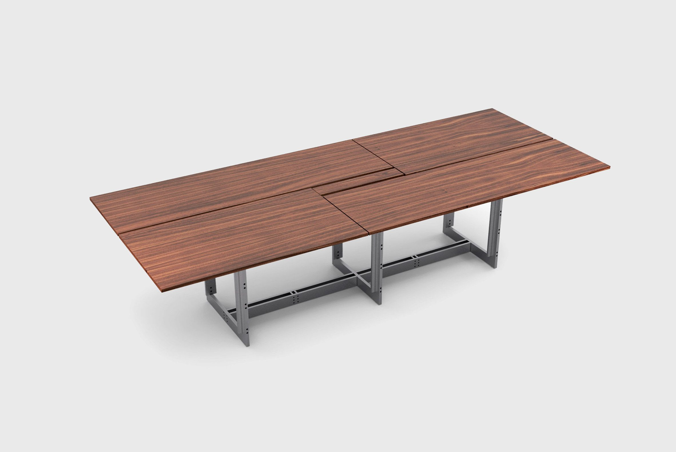 A image of a wooden table