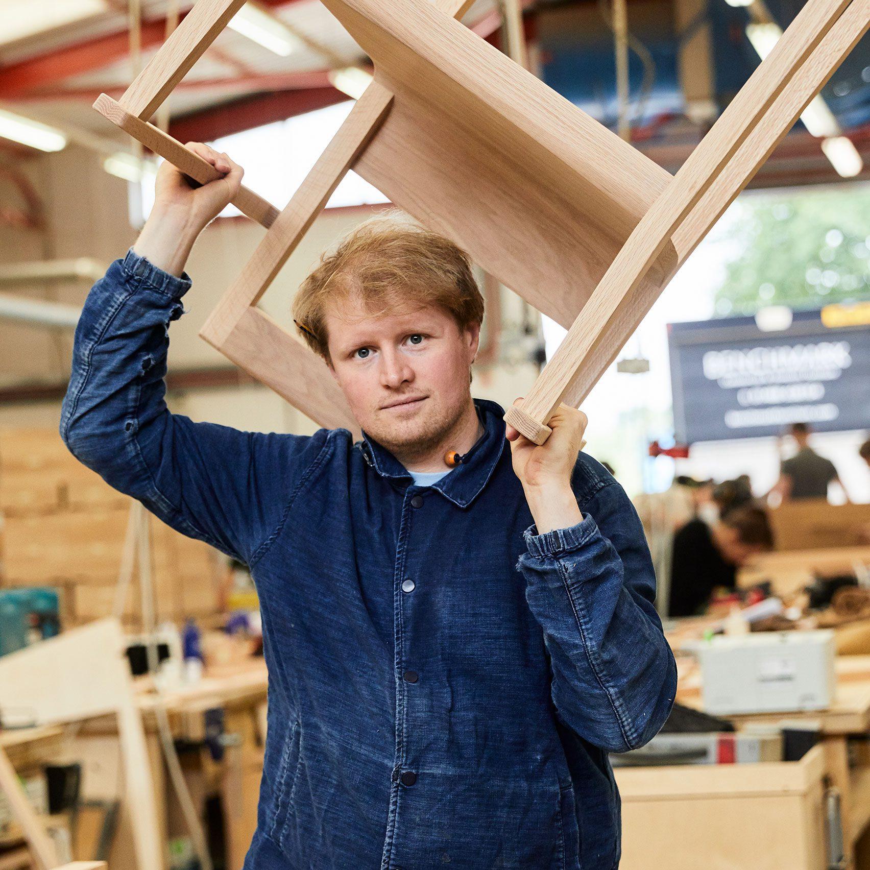 Portrait of designer Sebastian Cox