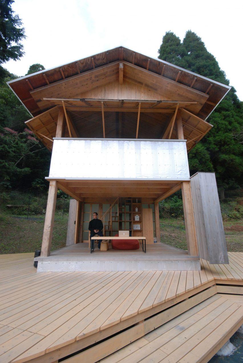 Tanada Terrace Office by Atelier Bow-Wow