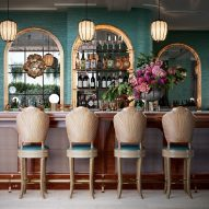 The Goodtime Hotel, Bar by Gabriel Saunders