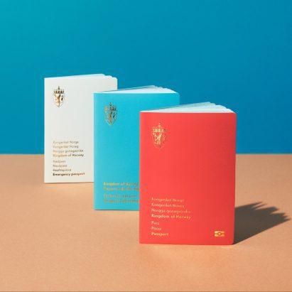 The Norwegian Landscape – The New Norwegian Passports by Neue Design Studio
