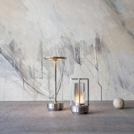 Turn and Turn+ portable lamps by Nao Tamura for Ambientec