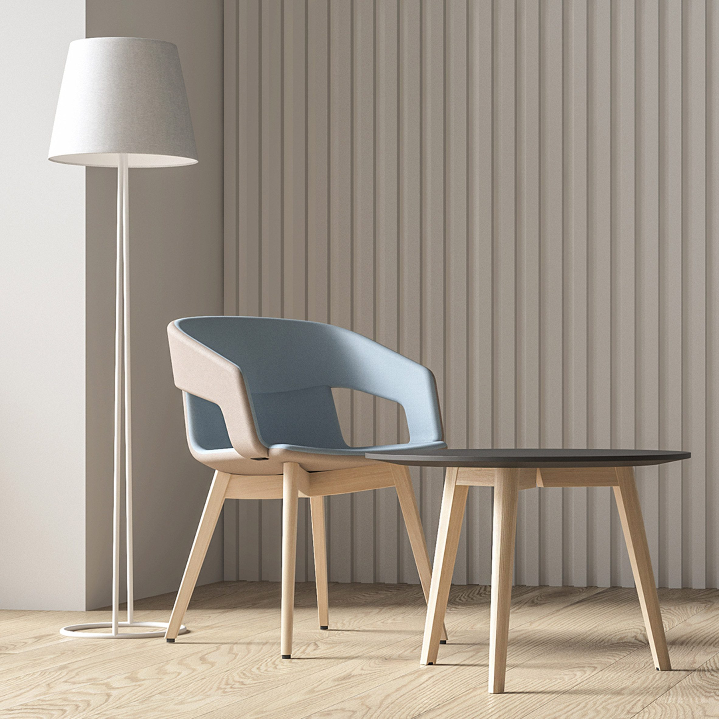 Twist&Sit Soft seating by Strand + Hvass for Narbutas