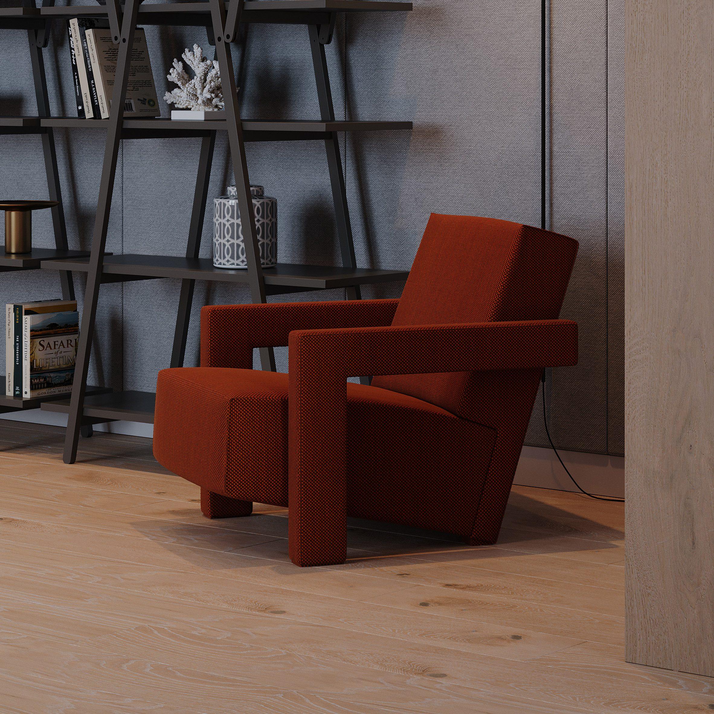 Utrecht Pro armchair by Gerrit Rietveld for Cassina