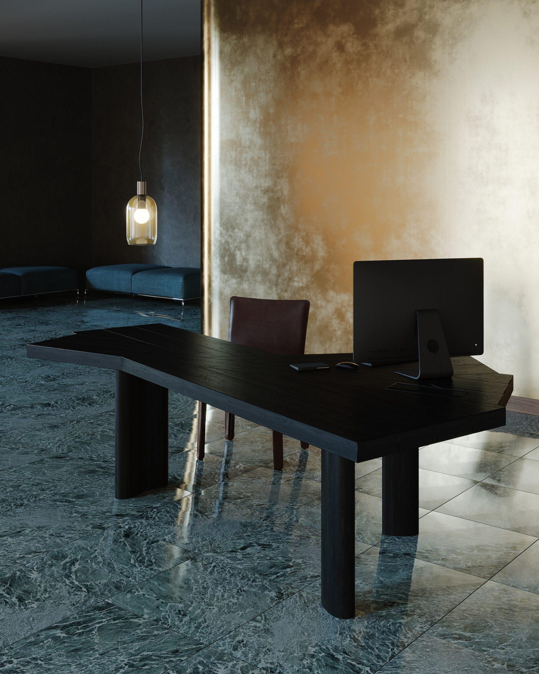 Ventaglio table by Charlotte Perriand for Cassina