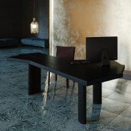 Ventaglio table by Charlotte Perriand for Cassina Pro
