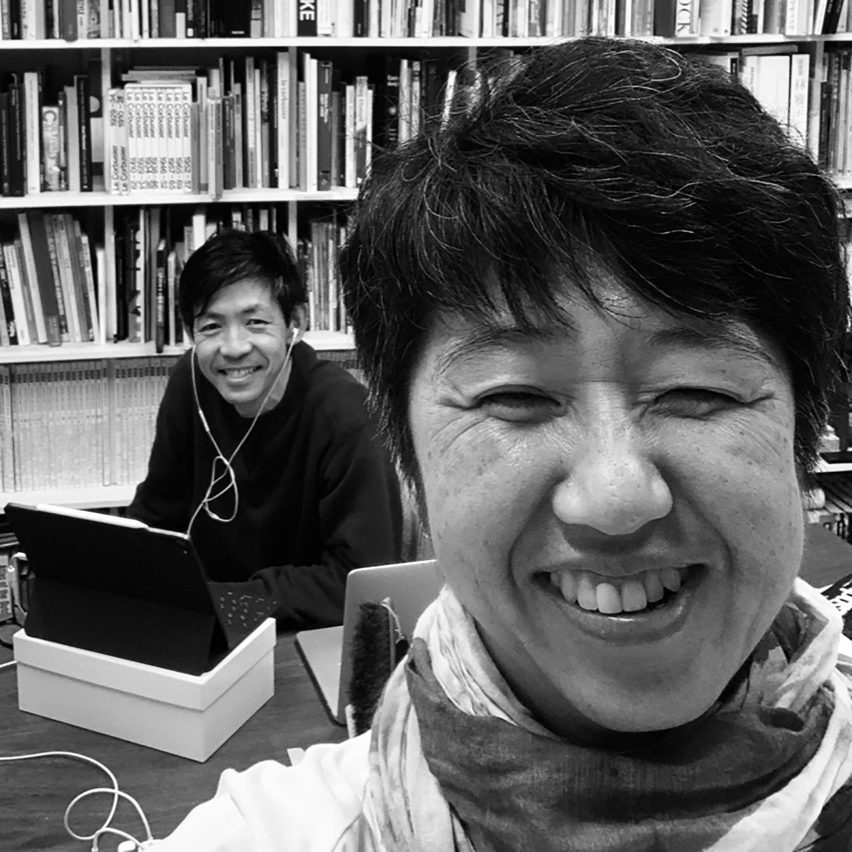 Portrait of Atelier Bow-Wow founders Yoshiharu Tsukamoto and Momoyo Kaijima