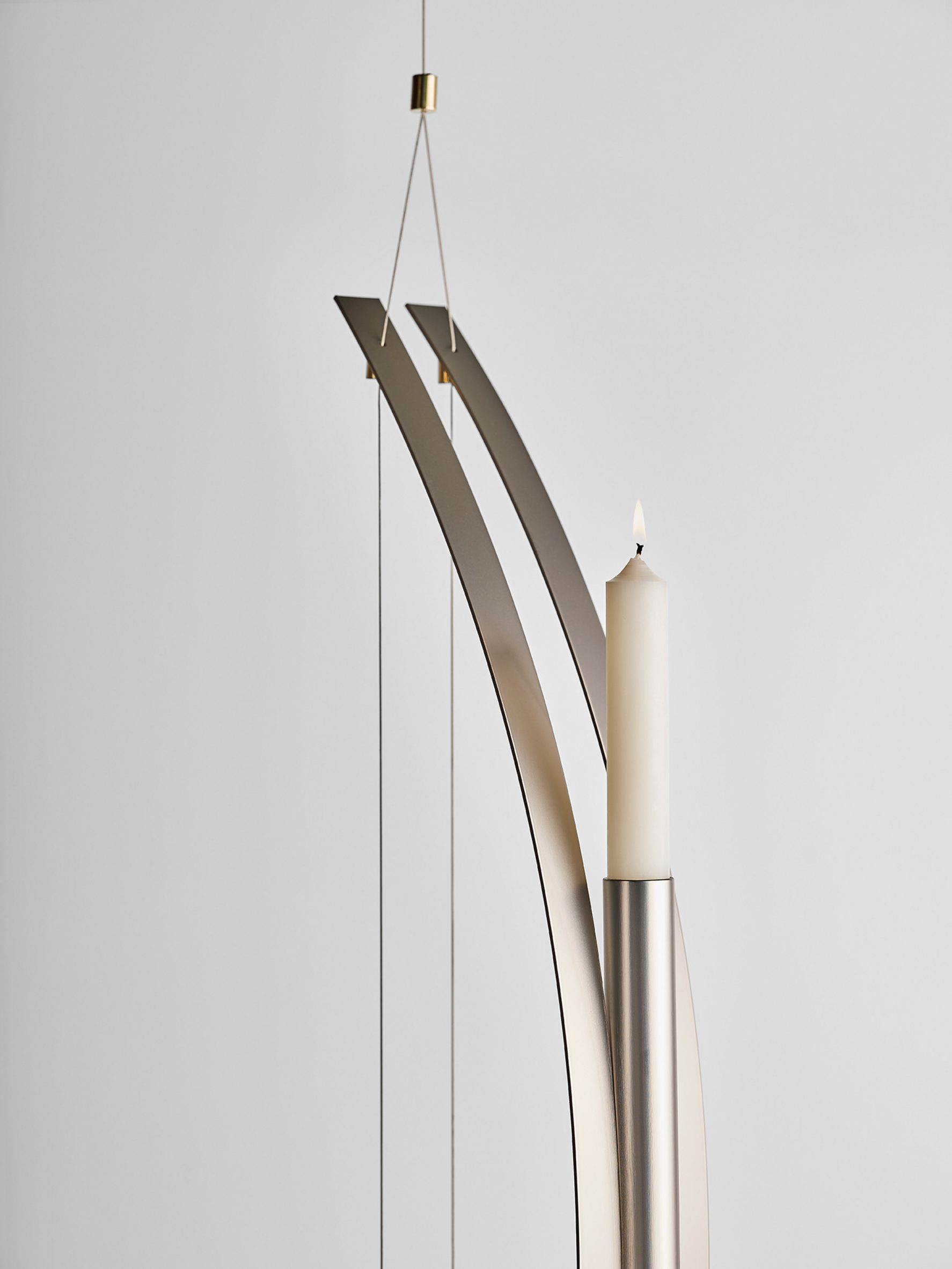 Federica Biasi candleholder for A Flame for Research