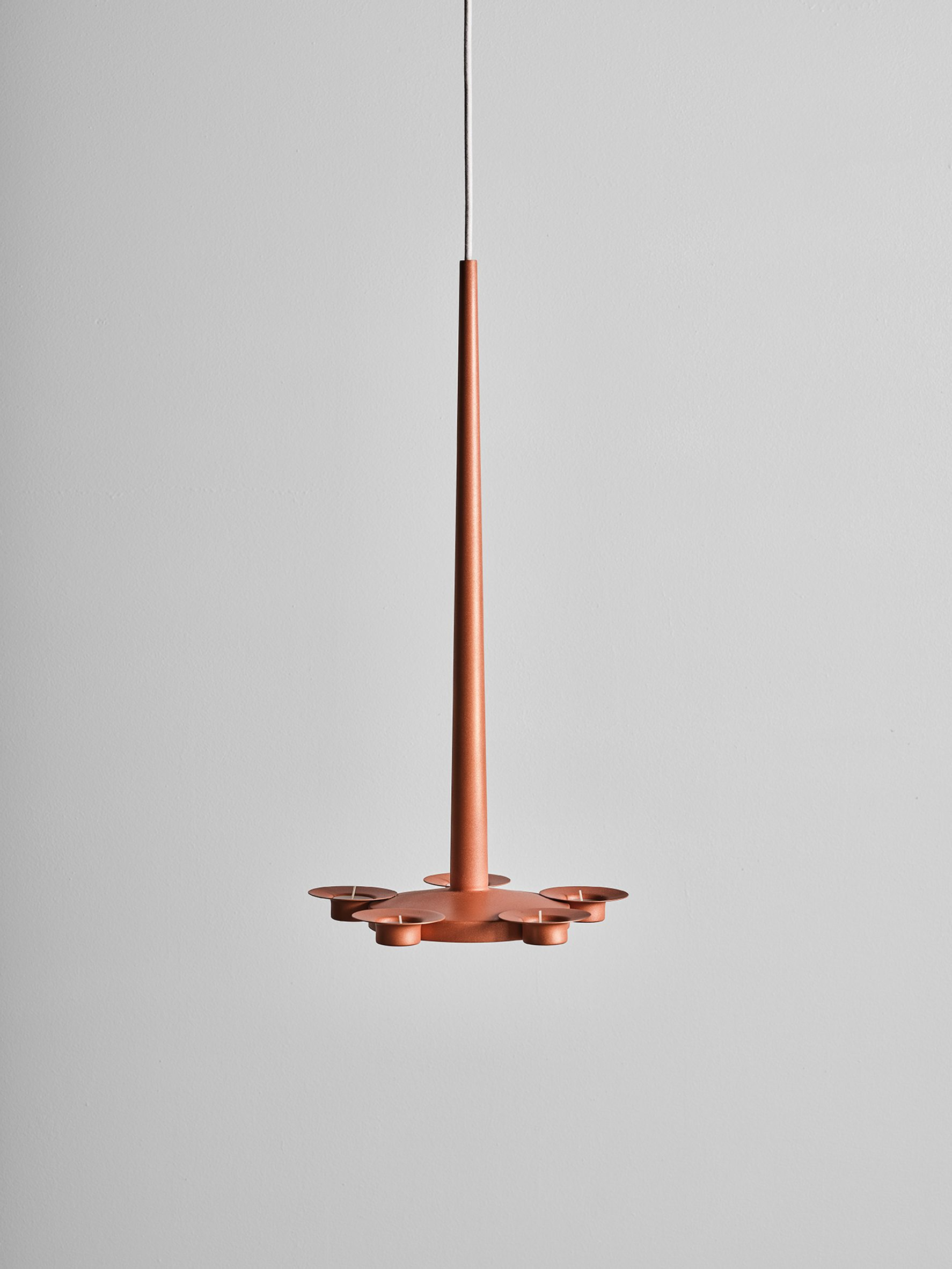 Marcel Wanders studio Cu-Cou light for A Flame for Research