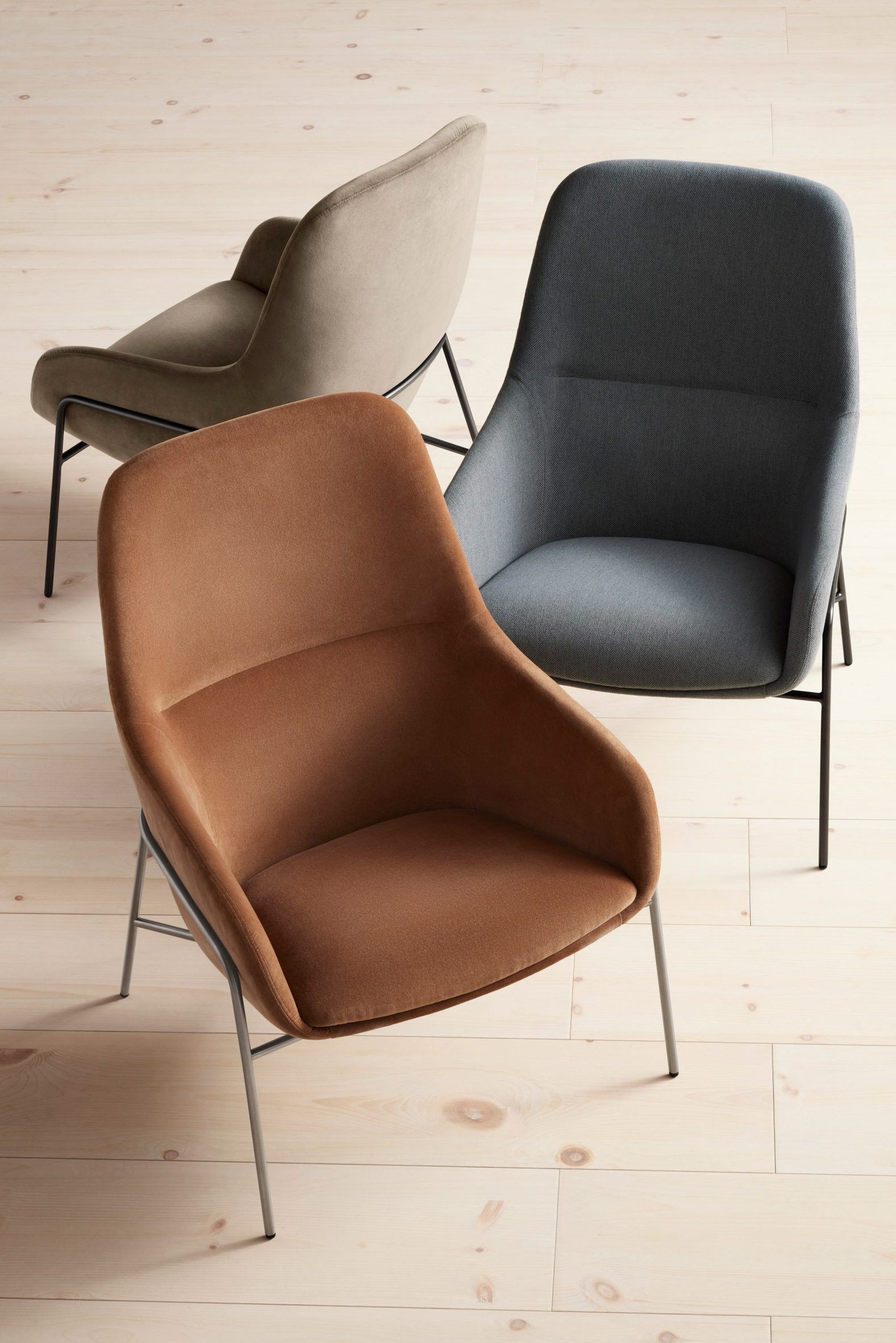 Acre Lounge Chairs by Blu Dot