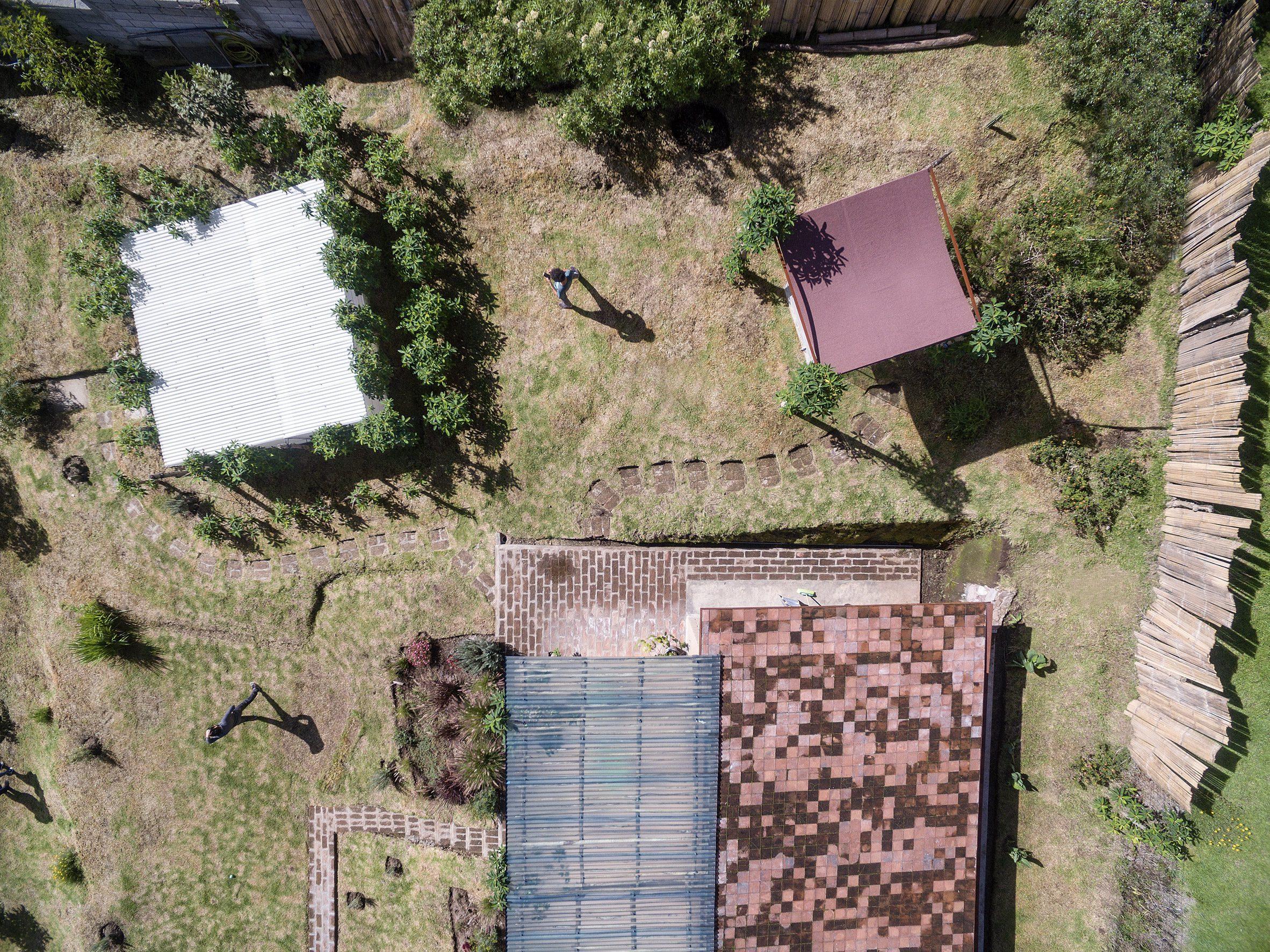 Pemandangan udara Casa Jardin oleh Al Borde