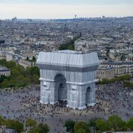This week the Arc de Triomphe was wrapped