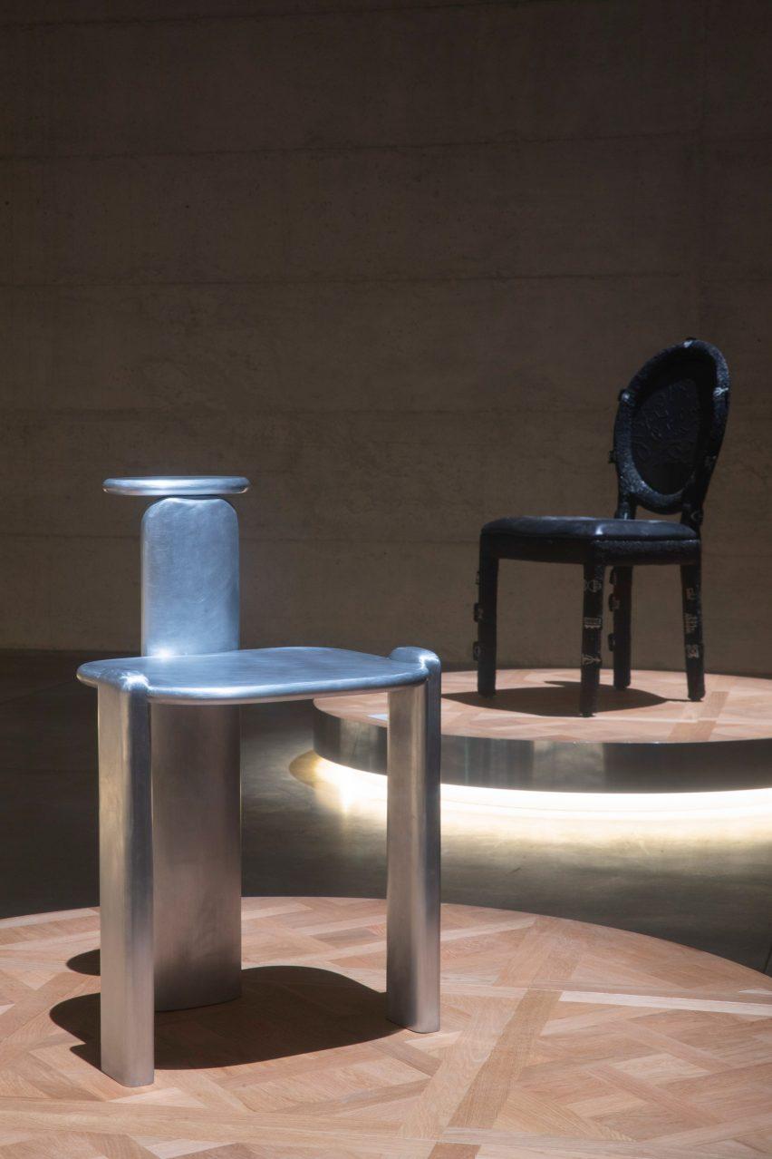 Dior Medallion chairs