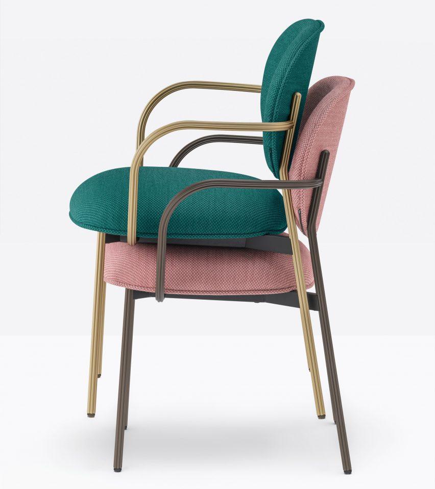 Кресло Blume штабелируемое