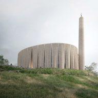 Luca Poian Forms designs decorative brick mosque for Preston