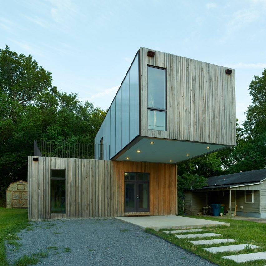Этот дом был спроектирован студентами из Арканзаса.