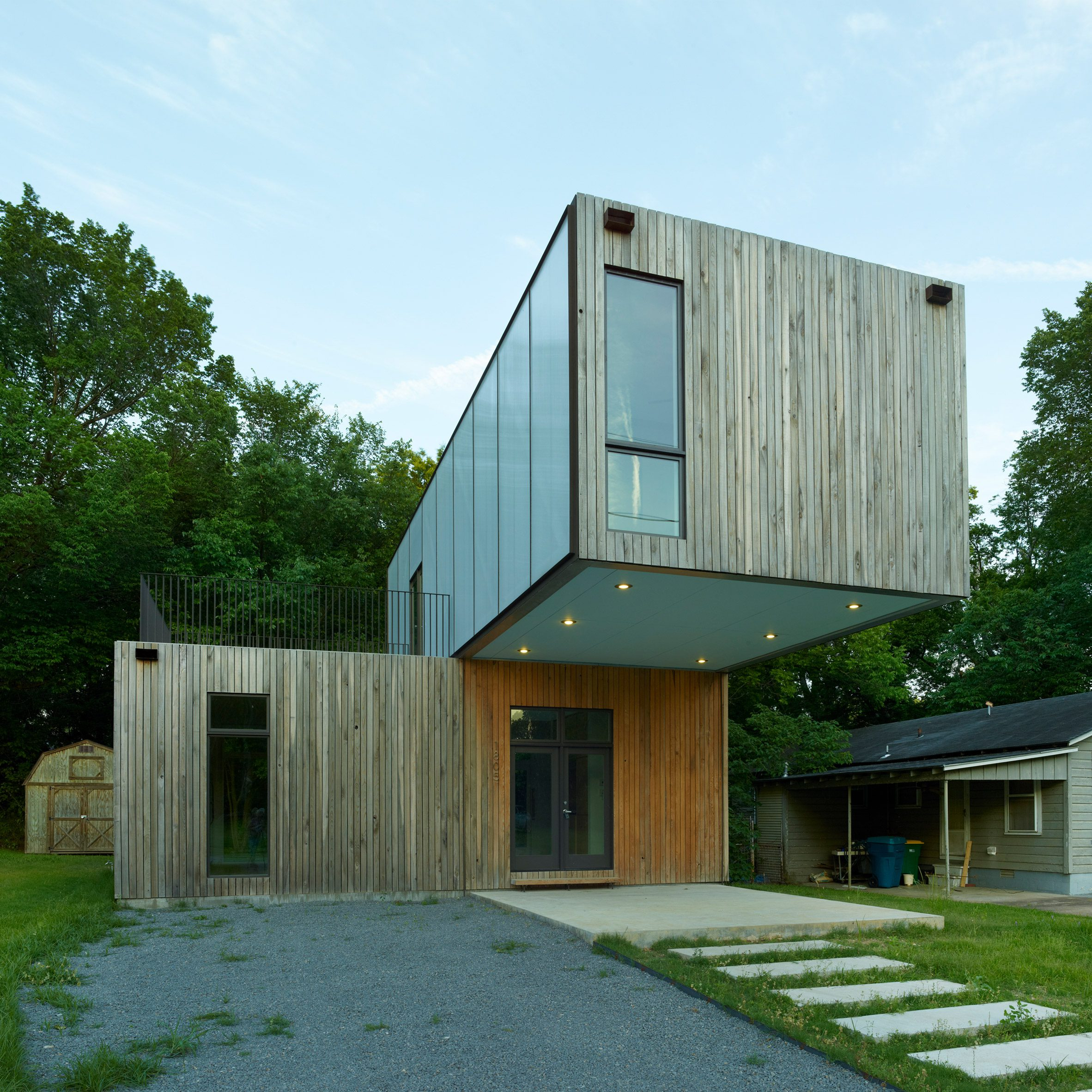 This house was designed by students in Arkansas
