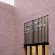 The entrance to the Bressanone music school